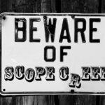 Beware of scope creep.
