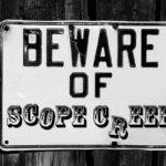 Beware of scope creep.