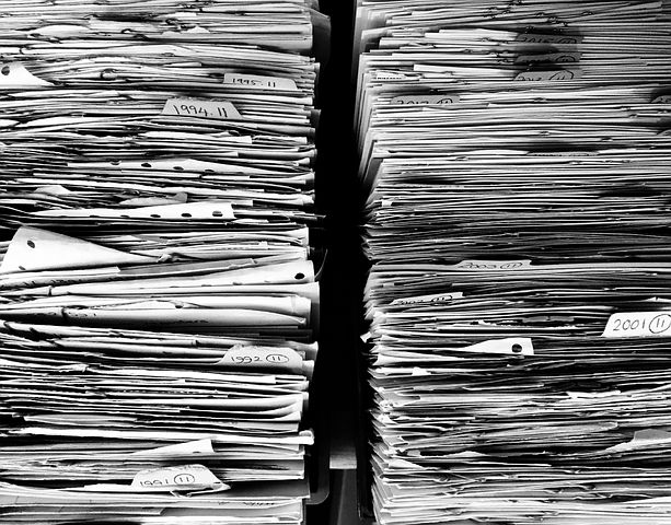 "7th Step to 'Non-Overwhelm': ""Wrangle your paperwork!"""